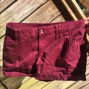 Super soft low rise midi shorts!